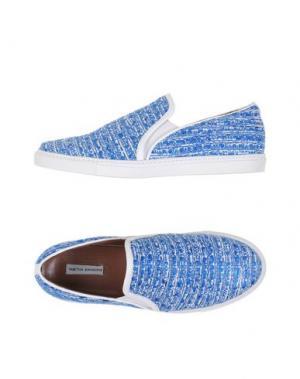 Низкие кеды и кроссовки TABITHA SIMMONS. Цвет: ярко-синий