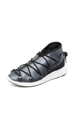 Беговые кроссовки на шнуровке  Cross Y-3. Цвет: ночной металлизированный/черный/полночный