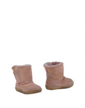 Полусапоги и высокие ботинки FALCOTTO. Цвет: телесный