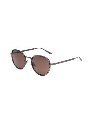 Солнцезащитные очки Bottega Veneta. Цвет: серебристый, белый