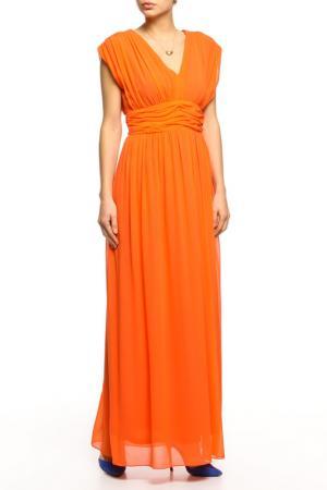 Платье BGN. Цвет: mandarin, оранжевый