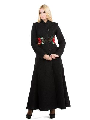 Пальто Yukostyle. Цвет: черный