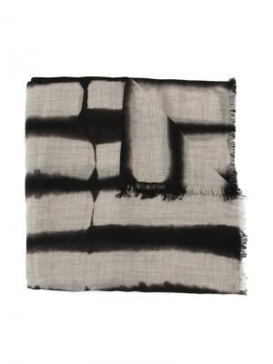 Dyed scarf Suzusan. Цвет: чёрный