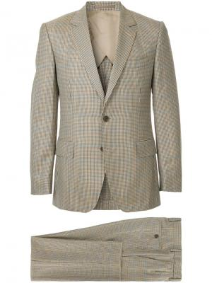 Two-piece formal suit Gieves & Hawkes. Цвет: коричневый