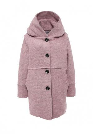 Пальто Lovini. Цвет: розовый