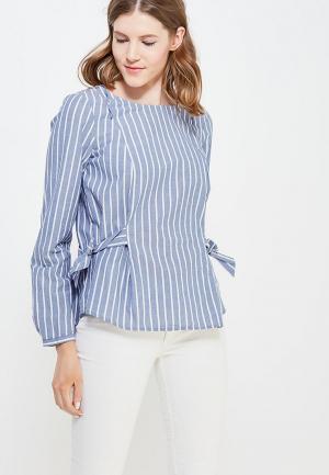 Блуза Tom Tailor. Цвет: голубой