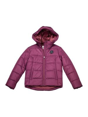 Куртка Core Poly Fill Puffer Converse. Цвет: бордовый