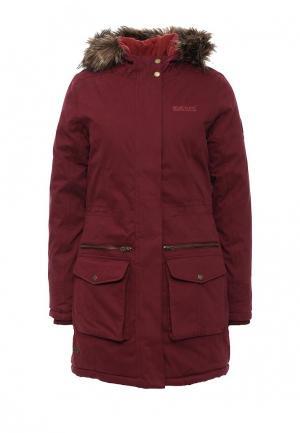 Куртка утепленная Regatta. Цвет: бордовый