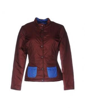 Куртка F**K PROJECT. Цвет: красно-коричневый