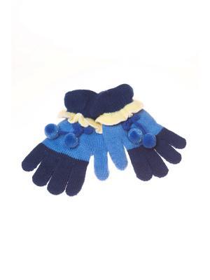 Перчатки Shapkoff. Цвет: синий