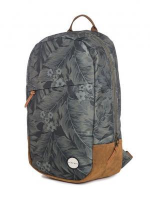 Рюкзак  PALM CRAFT Rip Curl. Цвет: серо-голубой, темно-серый, светло-коричневый