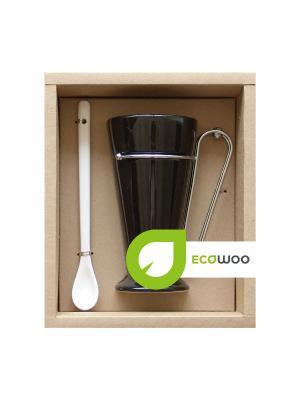 Набор для чаепития Ecowoo. Цвет: черный