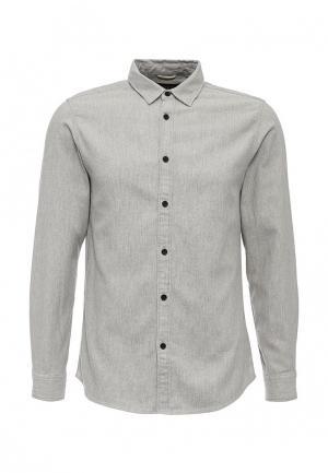 Рубашка ADPT. Цвет: серый