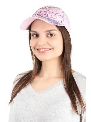 Бейсболка Migura. Цвет: розовый