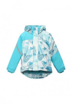 Куртка утепленная Modis. Цвет: бирюзовый