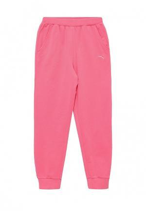 Брюки спортивные Anta. Цвет: розовый