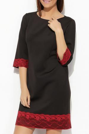 Платье Moda di Emiliana. Цвет: черный