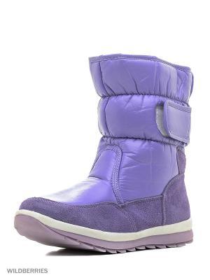 Дутики BRIS. Цвет: фиолетовый