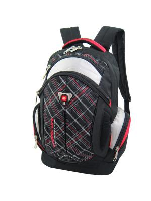 Рюкзак Stelz. Цвет: черный, красный