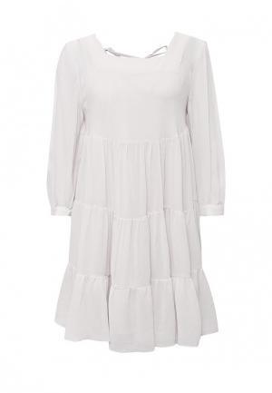 Платье Lusio. Цвет: серый