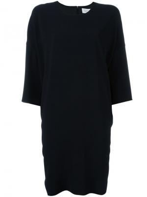 Платье шифт Gianluca Capannolo. Цвет: чёрный