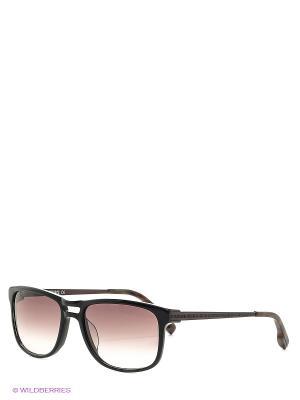 Солнцезащитные очки Bikkembergs. Цвет: коричневый, черный