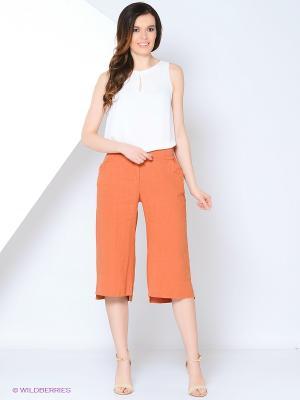 Кюлоты YUVITA. Цвет: оранжевый
