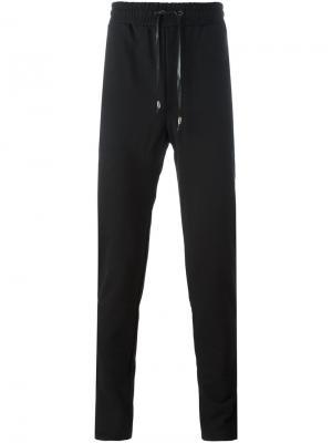 Спортивные брюки на шнурке D.Gnak. Цвет: чёрный