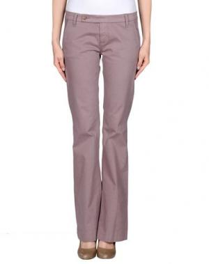 Повседневные брюки TRUE NYC.. Цвет: голубиный серый