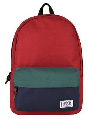 Рюкзак Street Bags. Цвет: темно-синий, бордовый, зеленый