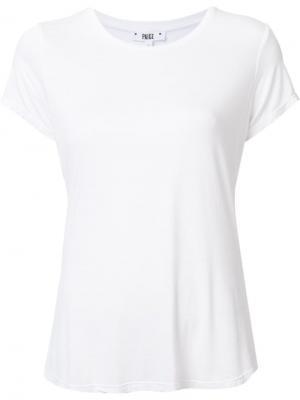 Классическая футболка Paige. Цвет: белый