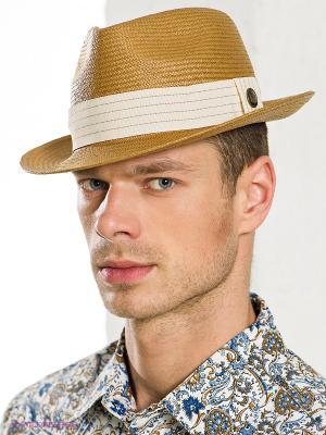 Шляпа Goorin Brothers. Цвет: бежевый, белый