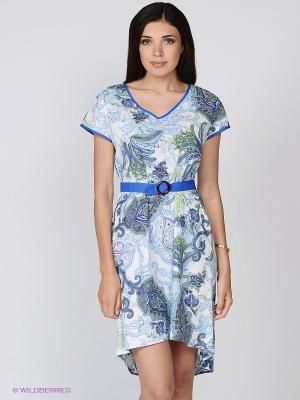 Платье Mia-Mia. Цвет: синий