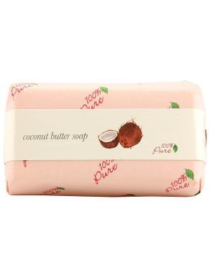 Крем-мыло Кокос, 127 гр 100% Pure. Цвет: бледно-розовый