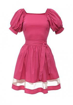 Платье Piena. Цвет: розовый