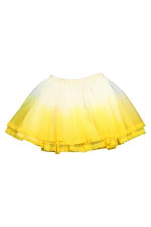 Юбка BILLIEBLUSH. Цвет: молочный, желтый