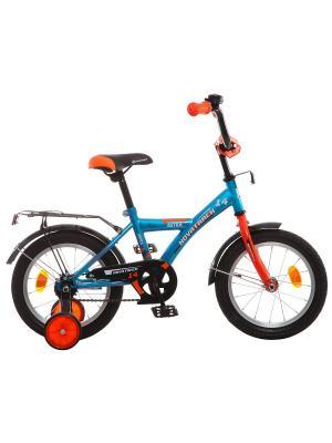Велосипед 14 ASTRA NOVATRACK. Цвет: синий