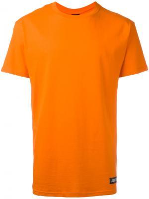 Футболка Kanye Les (Art)Ists. Цвет: жёлтый и оранжевый