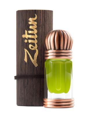 Концентрированные масляные духи Маджмуа: ветивер, запеченная земля и пандан. Зейтун. Цвет: светло-зеленый