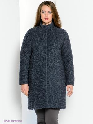 Пальто JUNAROSE. Цвет: серый