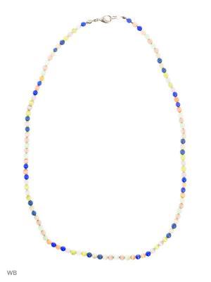 Ожерелье Jana Duff. Цвет: синий, голубой