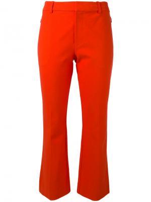 Расклешенные укороченные брюки Derek Lam 10 Crosby. Цвет: красный