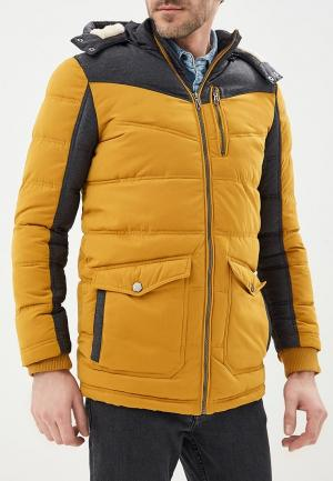 Куртка утепленная LC Waikiki. Цвет: желтый