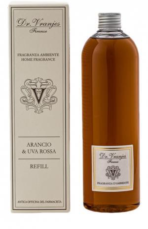 Наполнитель для диффузора Arancio & Uva Rossa Dr.Vranjes. Цвет: бесцветный