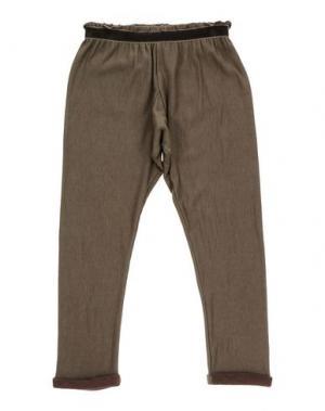 Повседневные брюки CAFFÉ D'ORZO. Цвет: хаки