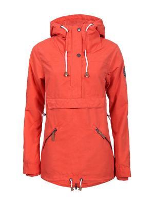 Анорак Inari. Цвет: оранжевый