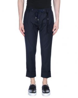 Повседневные брюки FUTURO. Цвет: темно-синий