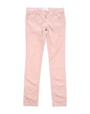Повседневные брюки ILLUDIA. Цвет: розовый