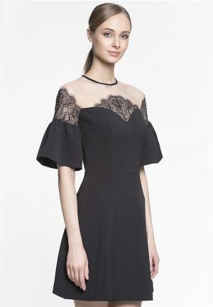 Платье Genevie. Цвет: черный