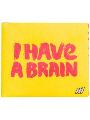 New Brain wallet. Цвет: желтый